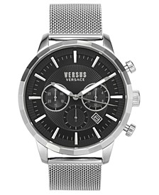 Men's Chronograph Eugene Stainless Steel Mesh Bracelet Watch 46mm