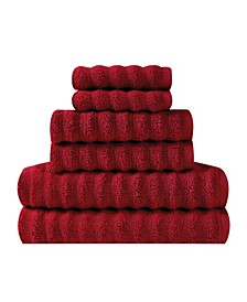 Zero Twist Cotton 6-Pc. Towel Set