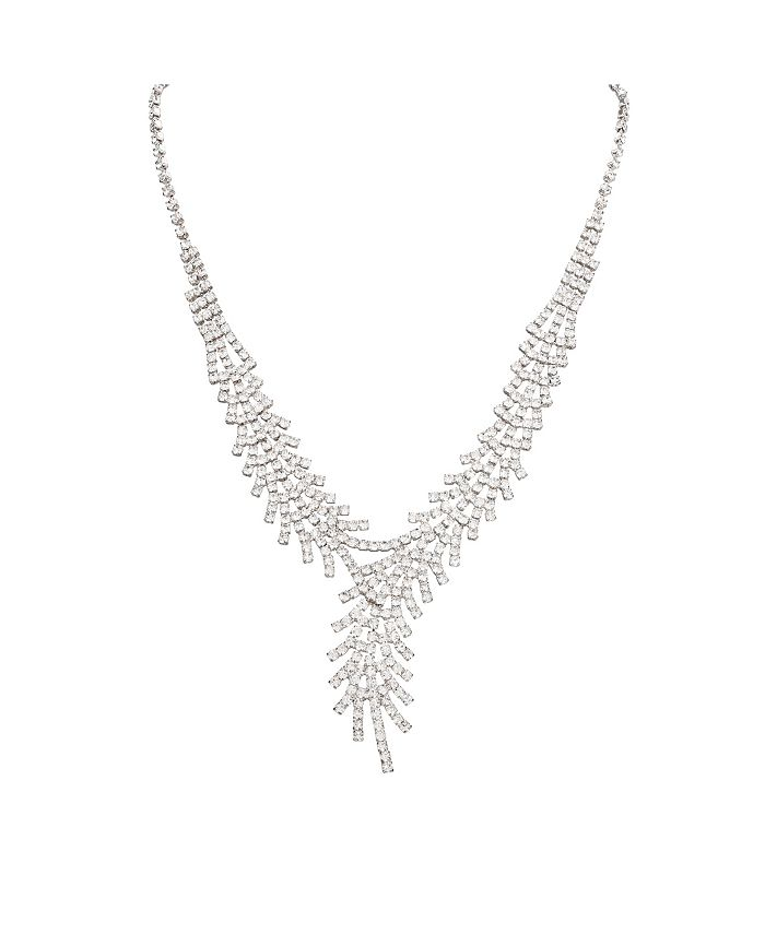 Nina - Crystal Bypass Y Necklace
