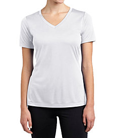 Galaxy By Harvic Short Sleeve Cotton Stretch Fitted V-Neck Tees