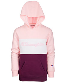 Champion Big Girls Colorblocked Hoodie