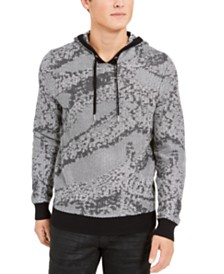 I.N.C. Men's Jax Hooded Knit Sweater, Created For Macy's