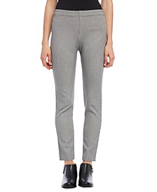 Piper Houndstooth Pull-On Pants