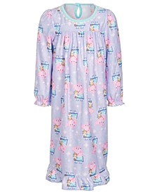 Toddler Girls Peppa Pig Printed Nightgown