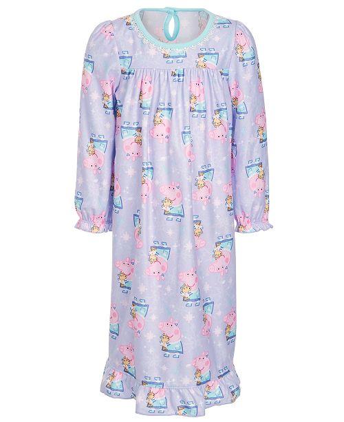 Peppa Pig Toddler Girls Peppa Pig Printed Nightgown