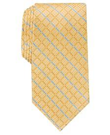 Perry Ellis Men's Elmdale Grid Tie
