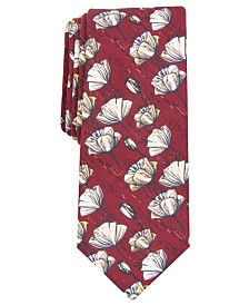 Bar III Men's Twain Skinny Floral Tie, Created For Macy's