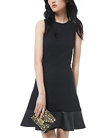 Michael Michael Kors Combo Tiered Dress, Regular & Petite Sizes