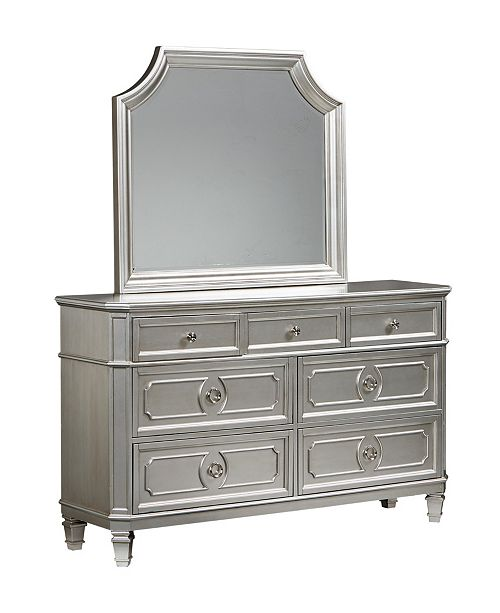 Furniture Windsor Silver Mirror