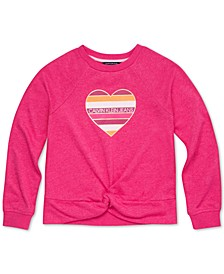 Big Girls Twist-Front Sweatshirt