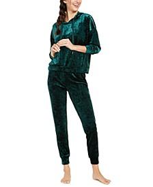 Velvet Sleep Hoodie & Velvet Sleep Pants, Created For Macy's