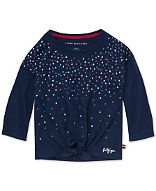 Tommy Hilfiger Toddler Girls Sequined T-Shirt