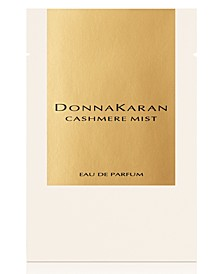 Receive a Complimentary Towelette with any large spray purchase from the Donna Karan Cashmere Mist Women's fragrance collection