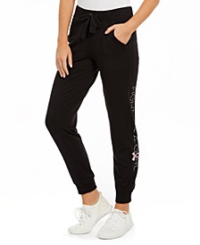 Fight Like A Girl Joggers, Created for Macy's