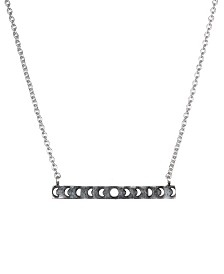 "Satya Jewelry Moon Phase Bar 18"" Necklace"