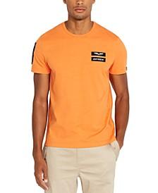 Men's Sleeve Patch T-Shirt