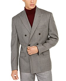 Men's Classic-Fit Double-Breasted UltraFlex Sport Coat