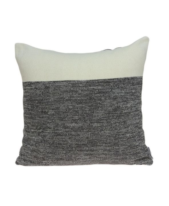 Parkland Collection Mahi Transitional Multicolor Pillow Cover With Down Insert