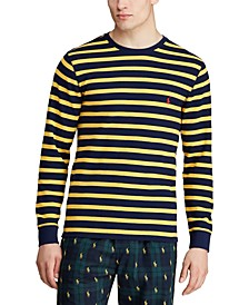 Men's Multi-Stripe Waffle Pajama Shirt
