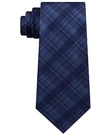 Men's Tonal Iridescent Check Tie
