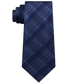 Kenneth Cole Reaction Men's Tonal Iridescent Check Tie