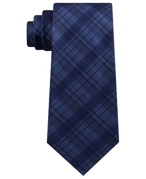 Kenneth Cole Reaction Men's Tonal Iridescent Check Tie