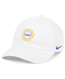 Nike LSU Tigers Patch Logo Seal Strapback Cap
