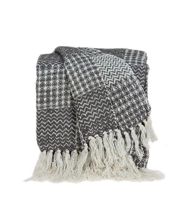 Parkland Collection Puka Transitional Handloomed Throw