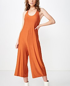 Cotton On Cass Tie Back Jumpsuit