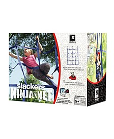 Slackers Climbing 4' X 7' Ninja Net Swing Sets, Outdoor Play Systems, Or Ninjalines