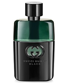 Gucci Guilty Men's Black Pour Homme Eau de Toilette, 3 oz