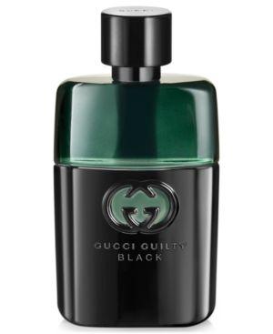 GUCCI Guilty Black Pour Homme 1.6 Oz/ 50 Ml Eau De Toilette Spray