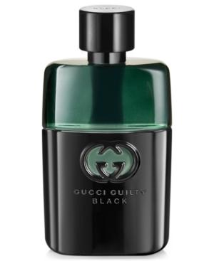 Gucci Guilty Men's Black Pour Homme Eau de Toilette, 3 oz