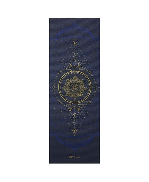 Gaiam Metallic Yoga Mat Sun Moon Reviews Home Macy S