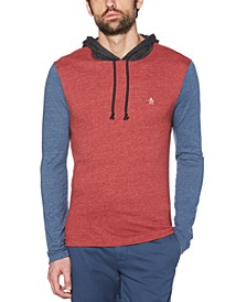 Men's Slim-Fit Colorblocked Hoodie