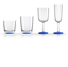Marc Newson by Palm Tritan Drinkware with Klein Blue Non-Slip Base