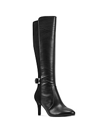 Bandolino Delfie Pointy Toe Tall Dress Boots