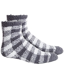 Check-Plaid Super Soft Butter Crew Socks, Created For Macy's