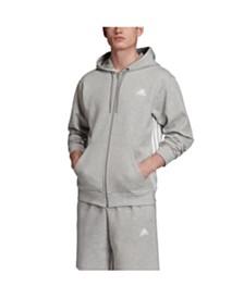adidas Men's 3-Stripe Zip Hoodie