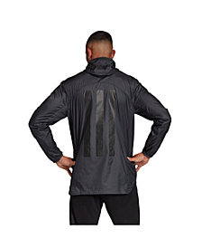 Adidas Men's Tango Climastorm 1/2 Zip 3-Stripe Soccer Windbreaker