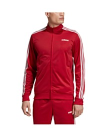 Adidas Men's 3-Stripe Tricot Track Jacket