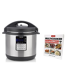 Zavor LUX Edge 6-Qt. Multi-Cooker with Americas Test Kitchen Multi-Cooker Perfection Cookbook