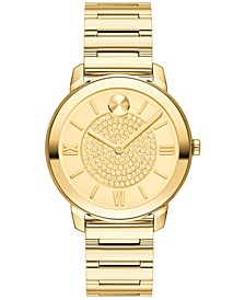 Women's Swiss BOLD Gold-Tone Stainless Steel Bracelet Watch 32mm
