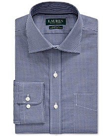 Lauren Ralph Lauren Men's Classic-Fit Easy Care Gingham Dress Shirt