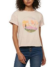 Juniors' Wonder Cotton Graphic-Print T-Shirt