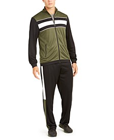 Men's Colorblocked Track Jacket & Pants, Created for Macy's