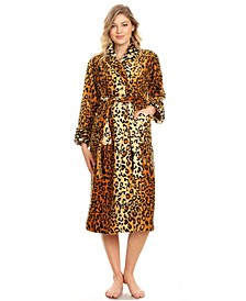 Plus Size Super Soft Lounge Robe