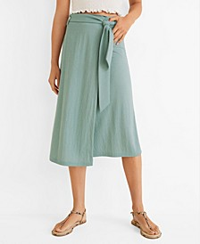 Bow Wrap Skirt