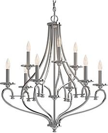 Tes 9-Light Hanging Chandelier