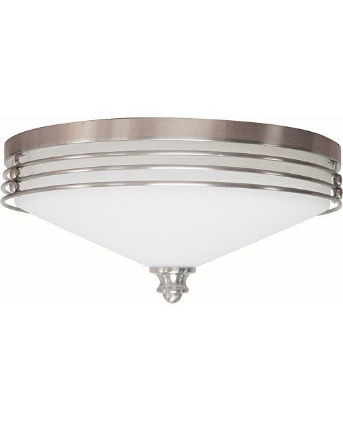 Volume Lighting Avila 2-Light Flush Mount Ceiling Fixture